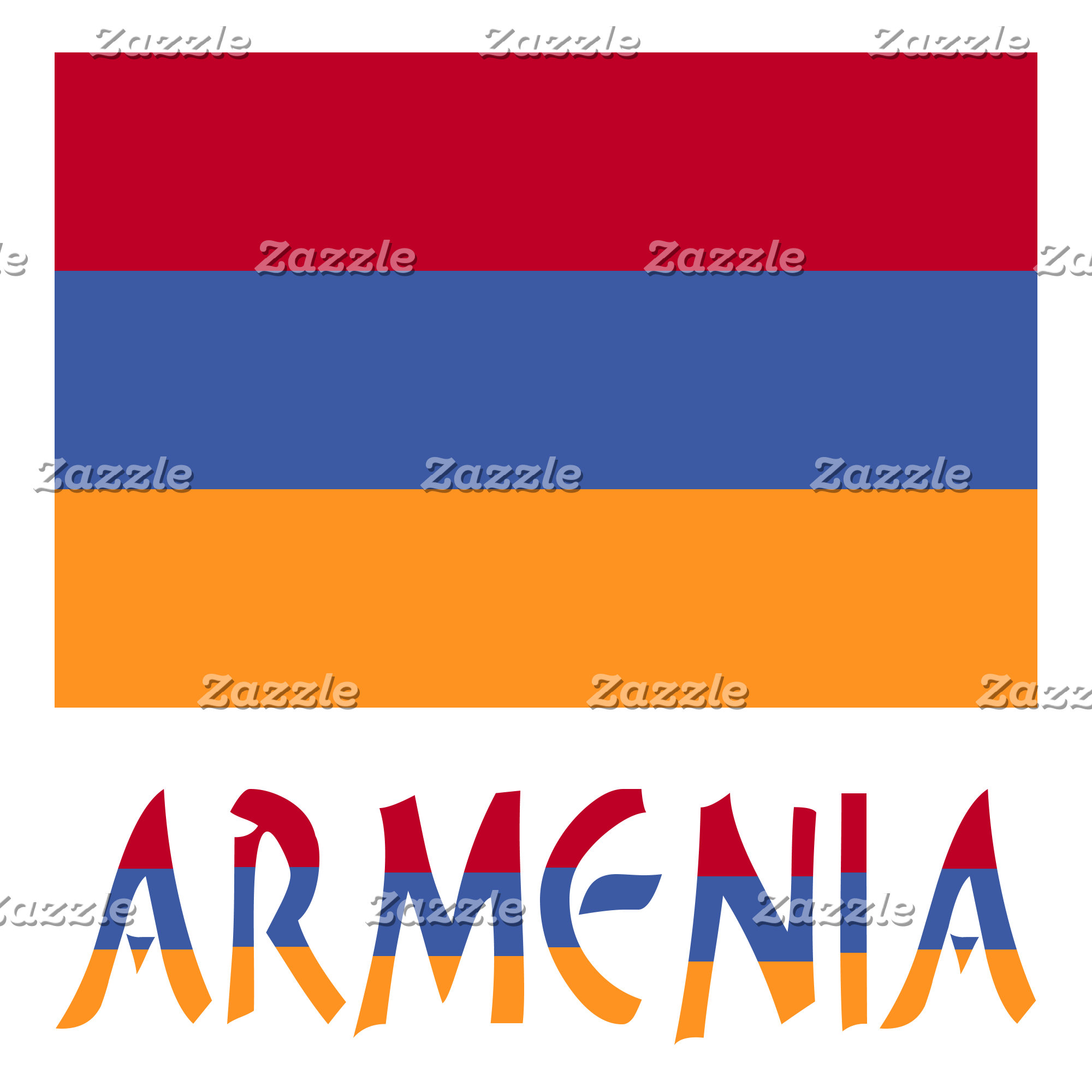 Armenian Flag and Armenia