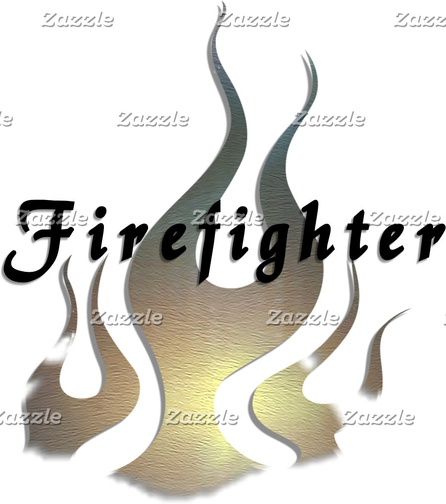 A Proud Firefighter Decal