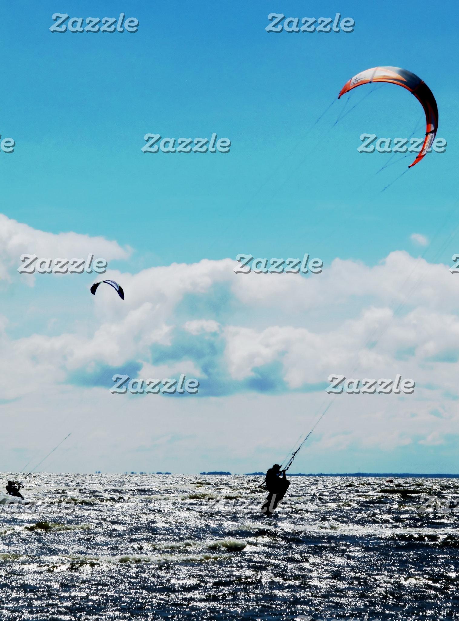Cruisin' with a Kite: Kitesurfing Sea