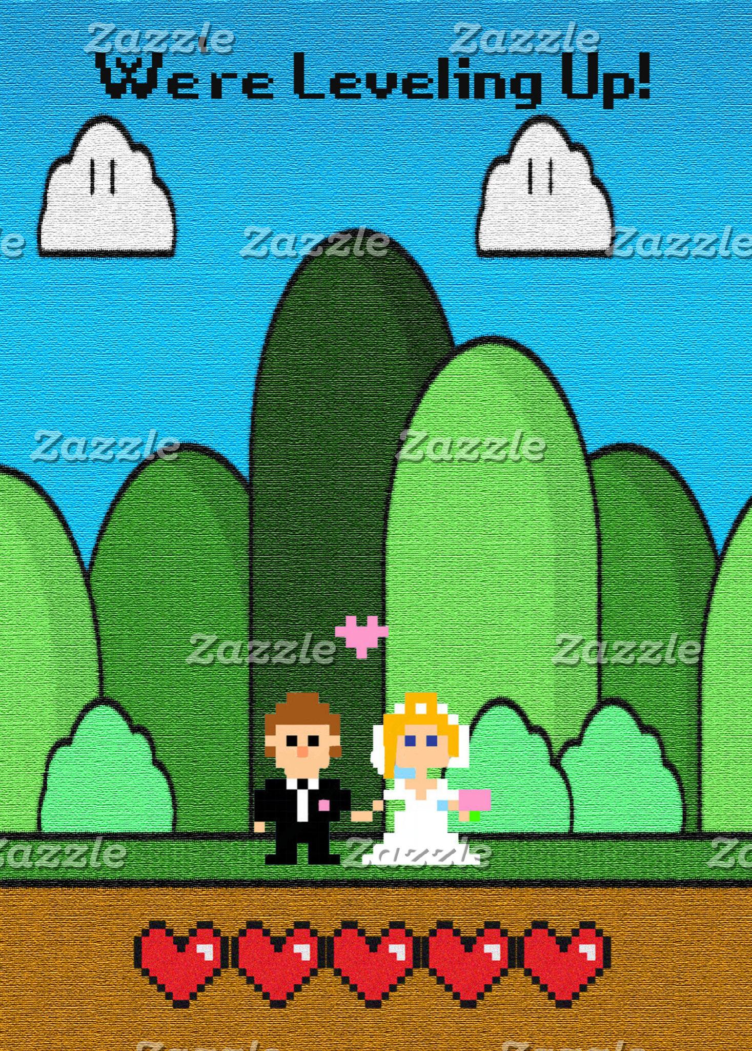 Gaming Level Up Wedding