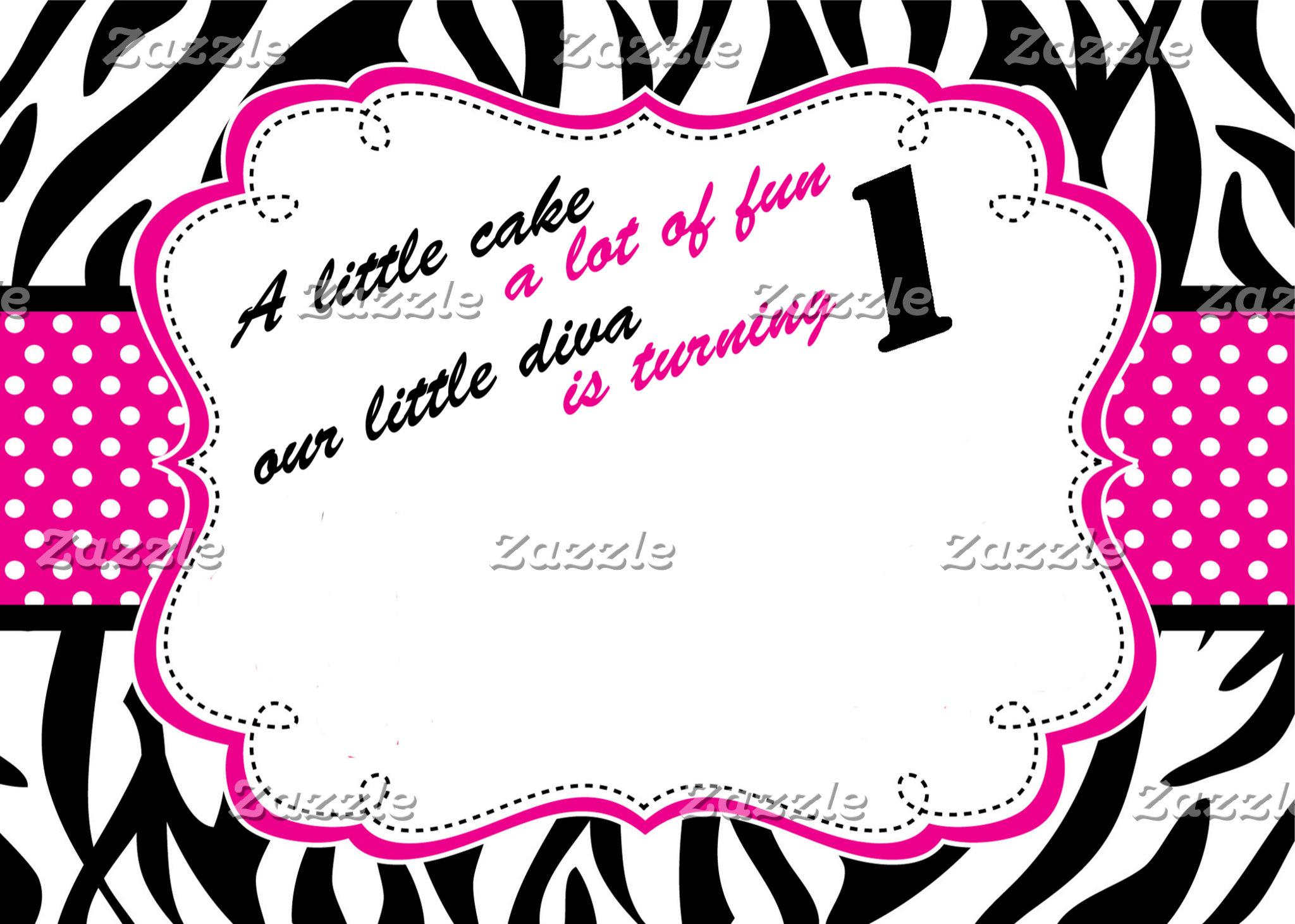 Birthday Invitations (First)