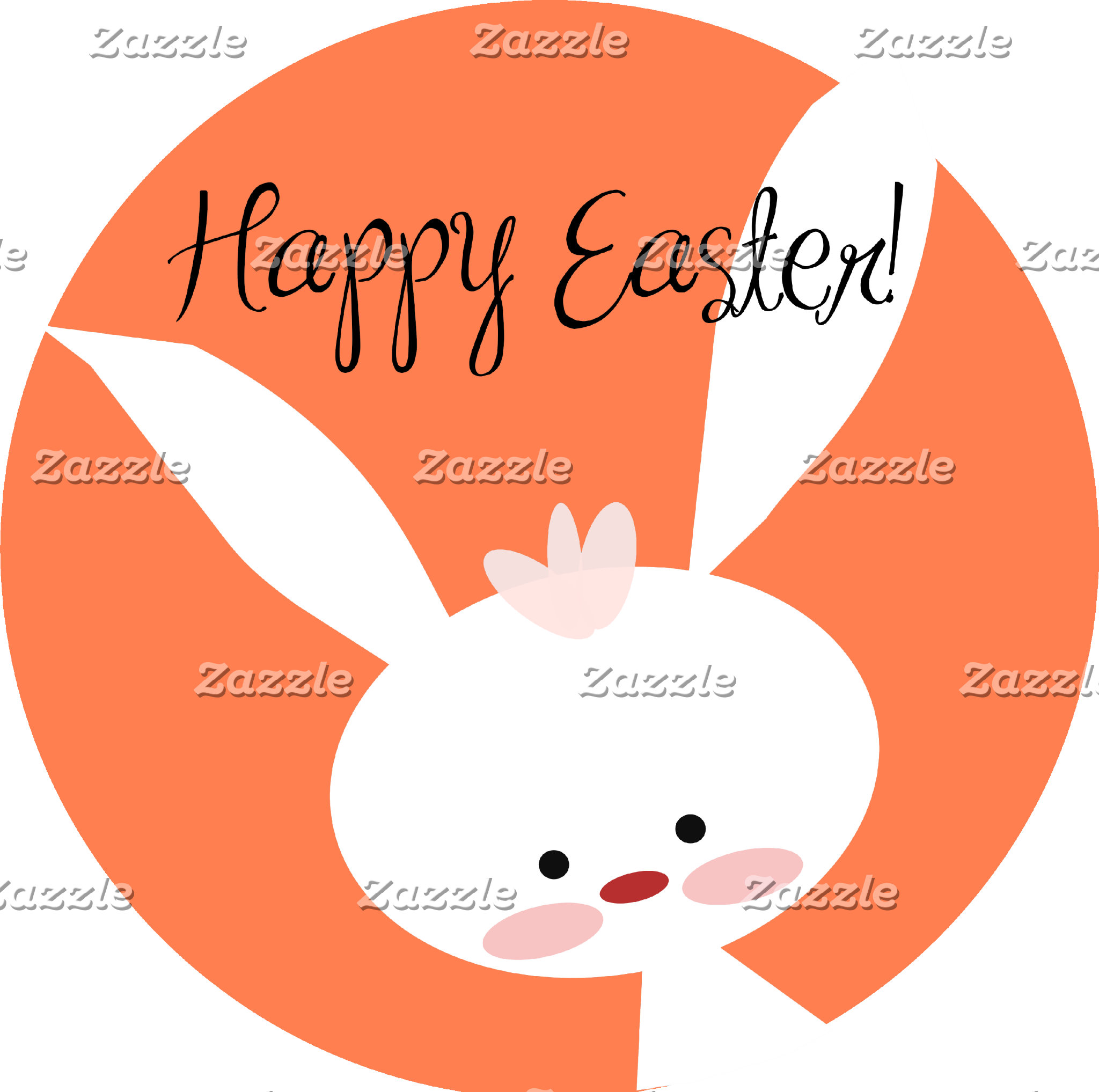 Easter Bunny - Orange