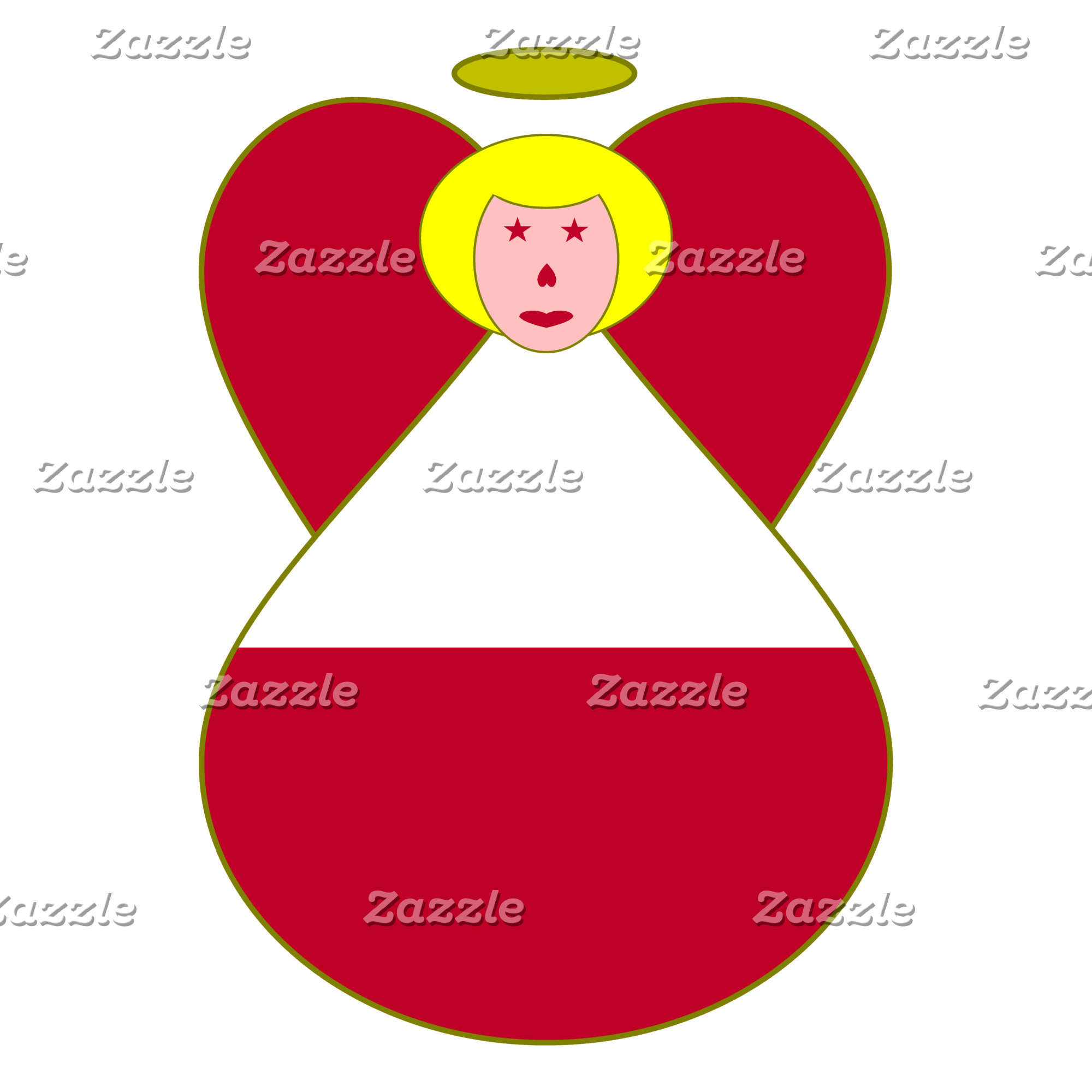 Austrian Angel Flag Blonde