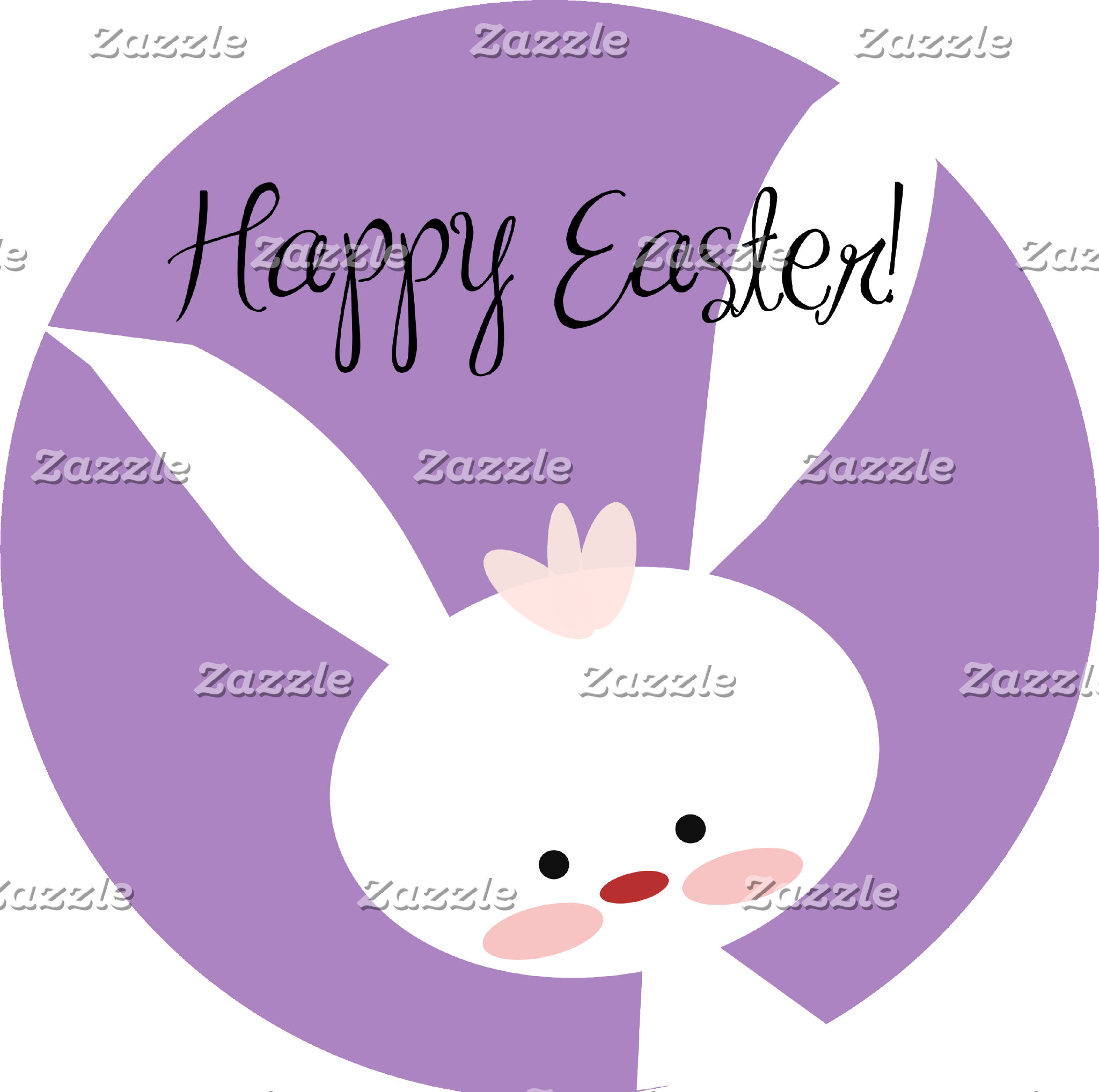 Easter Bunny - Purple