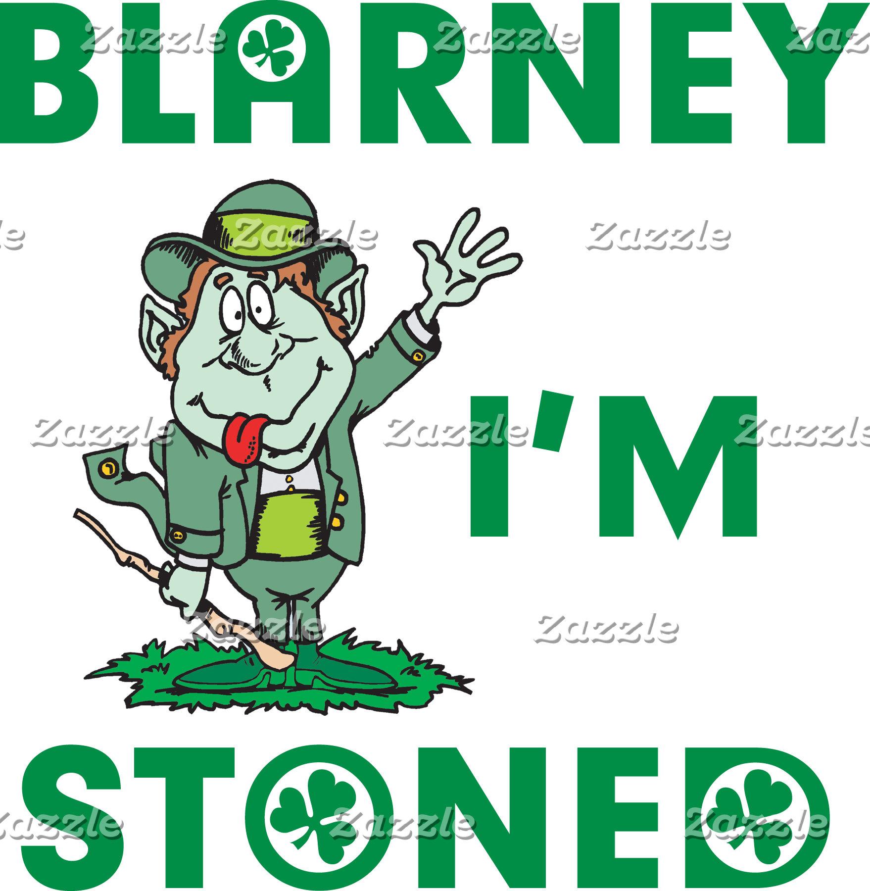 Blarney I'm Stoned T-Shirts