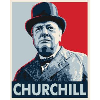 Winston Churchill Vector