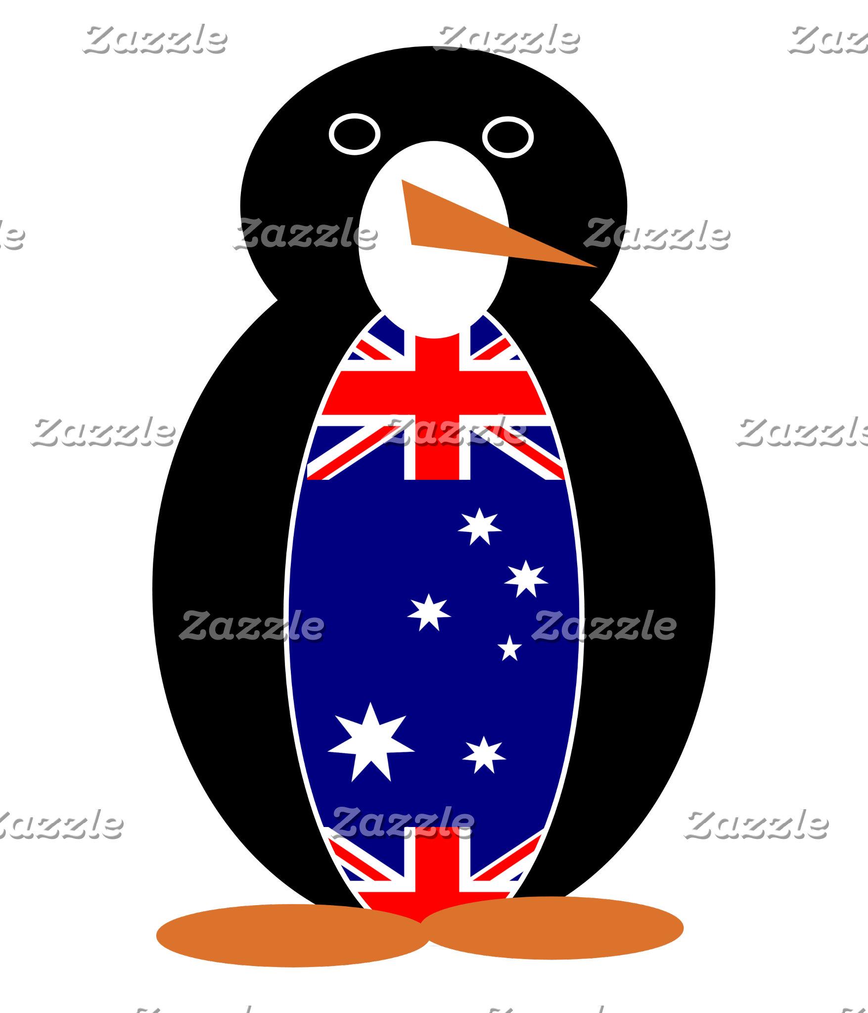 Australian Holiday Mr. Penguin