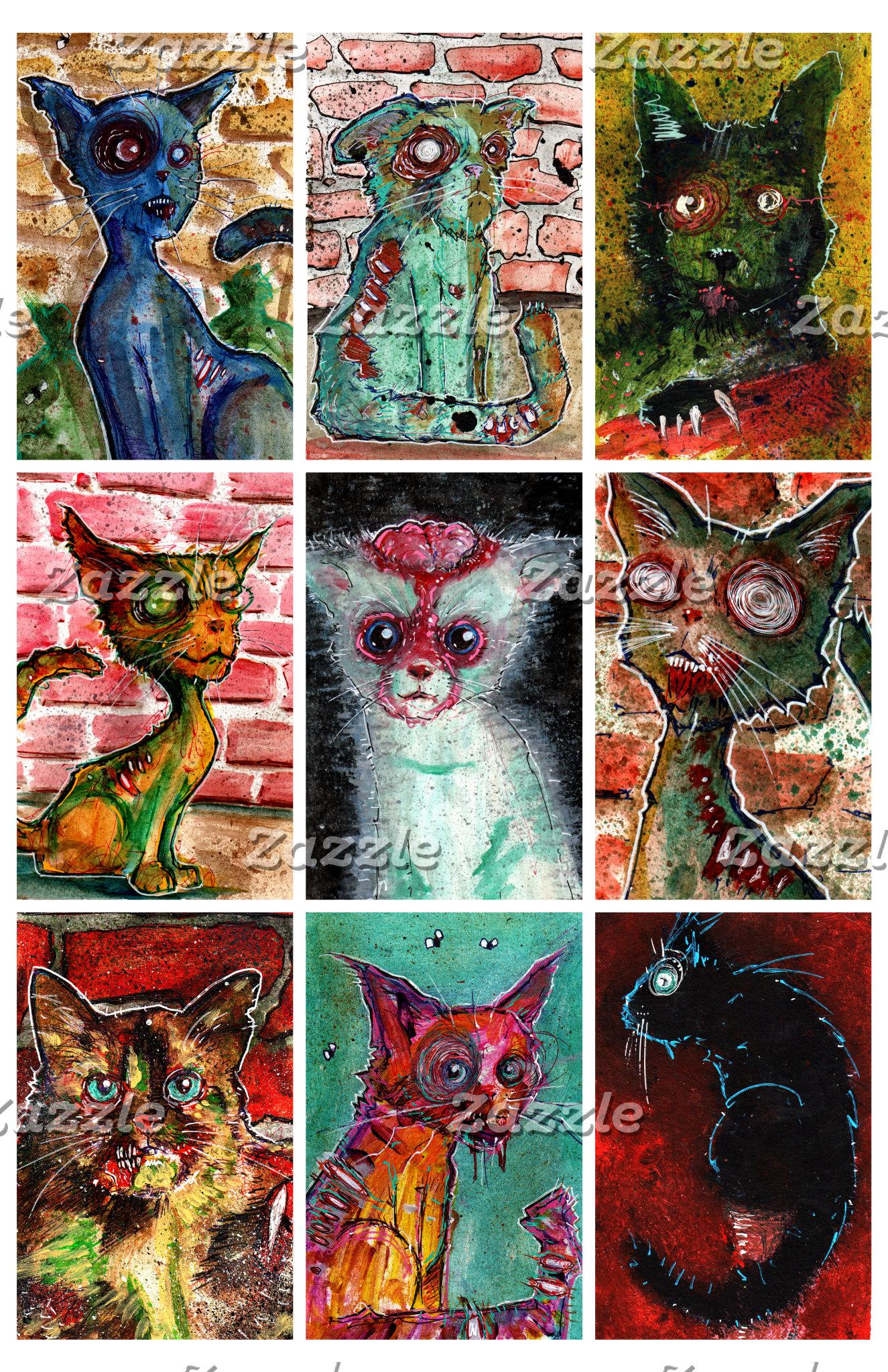 9 zombie cats 2