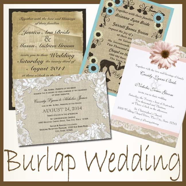 Rustic Wedding Sets