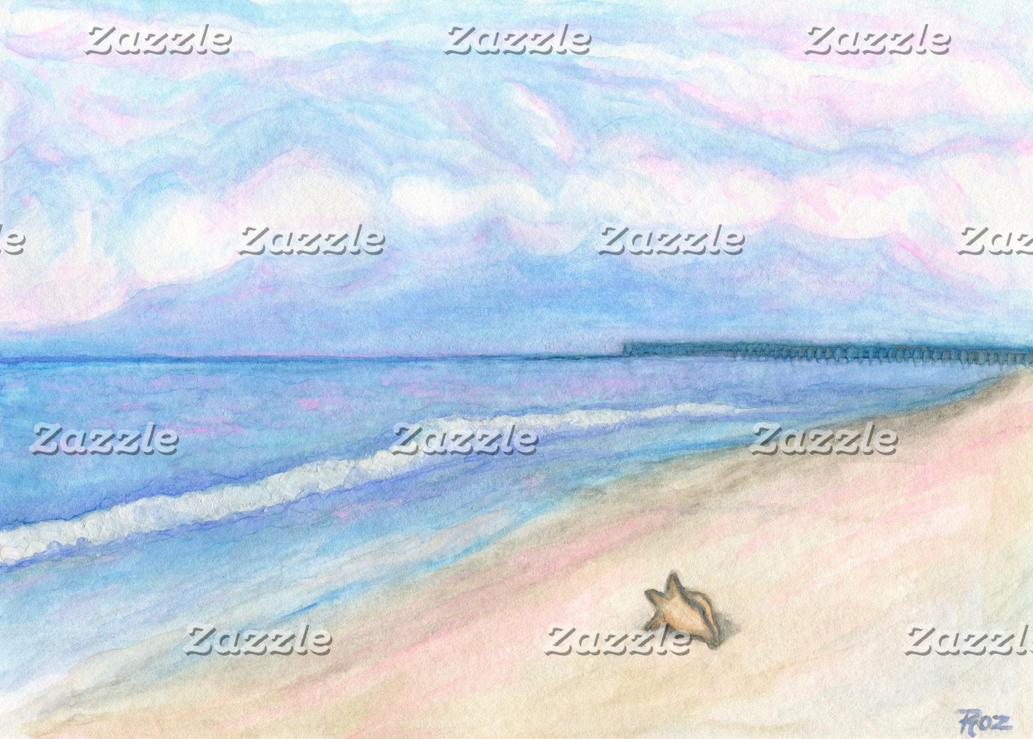 Sunday Morning On Flagler Beach