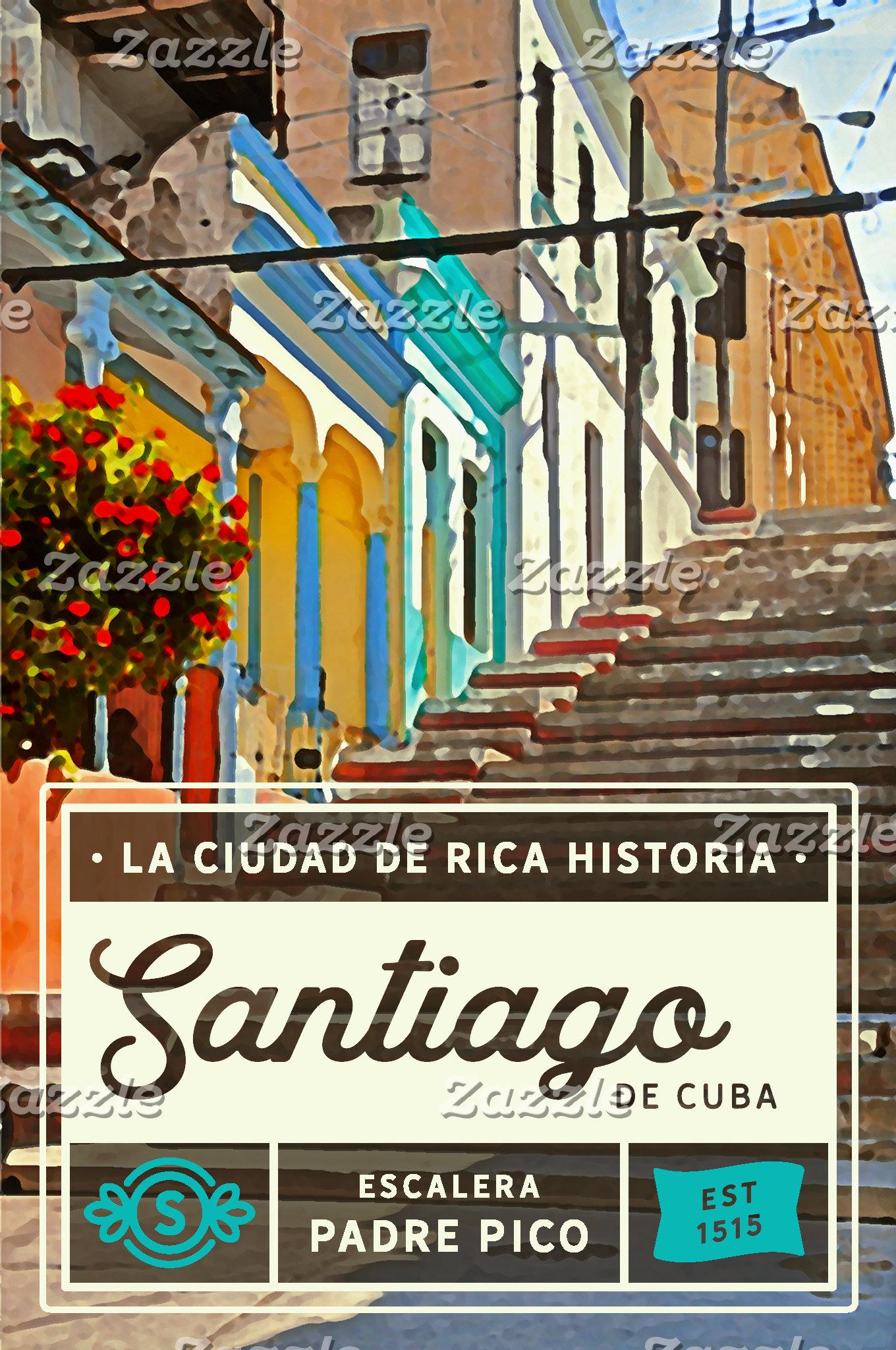 Santiago De Cuba Padre Pico