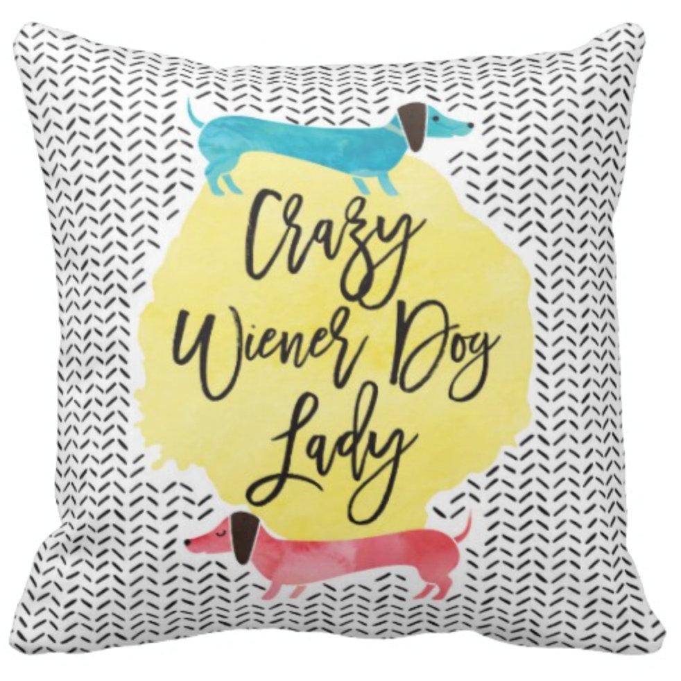 Dachshund Pillows