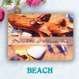 Beach Wedding Invitations & Save the Dates