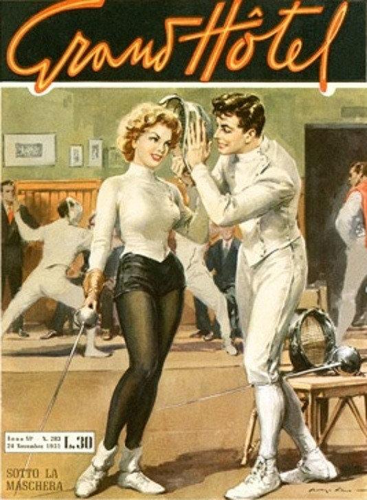 Vintage Fencing