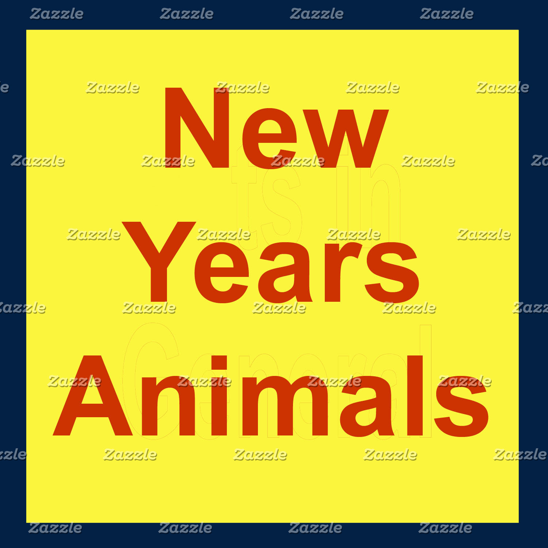 New Years Animals