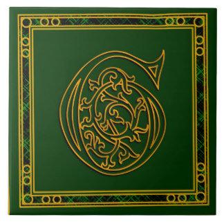 A-Z Irish Gold on Green