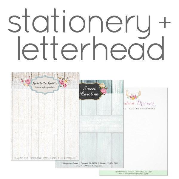 Stationery + Letterhead