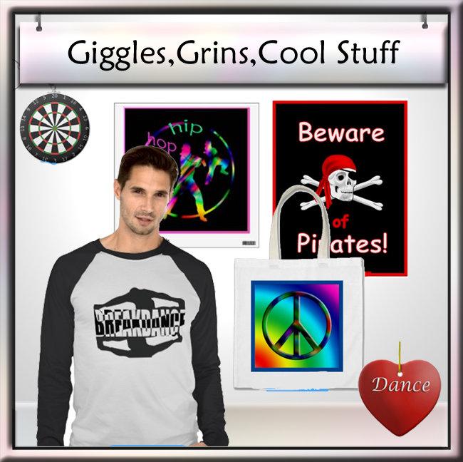 Giggles, Grins, Cool Stuff