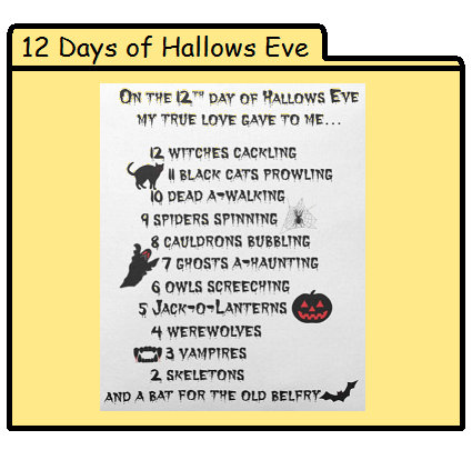 12 Days of Hallows Eve