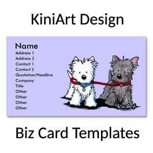 KiniArt Design Business Cards