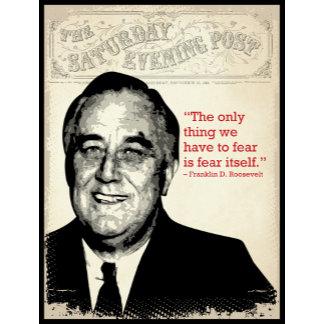 Franklin D. Roosevelt Quote