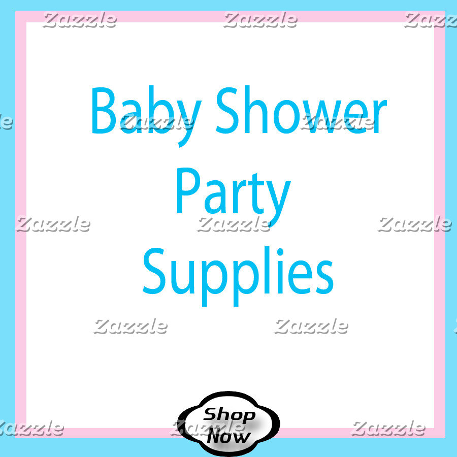 Baby Shower Party Supplies