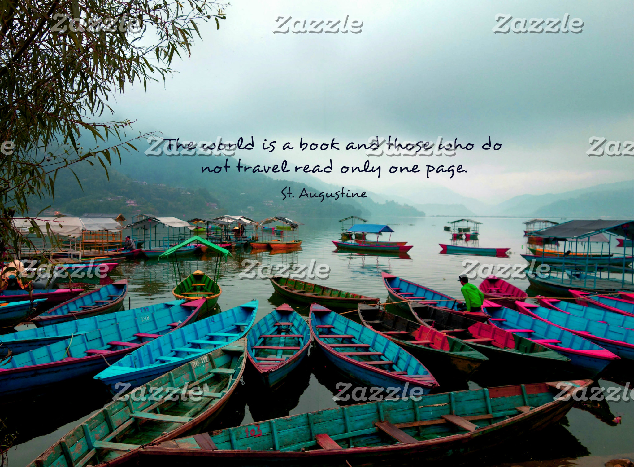 The world is a book and those who do not travel re