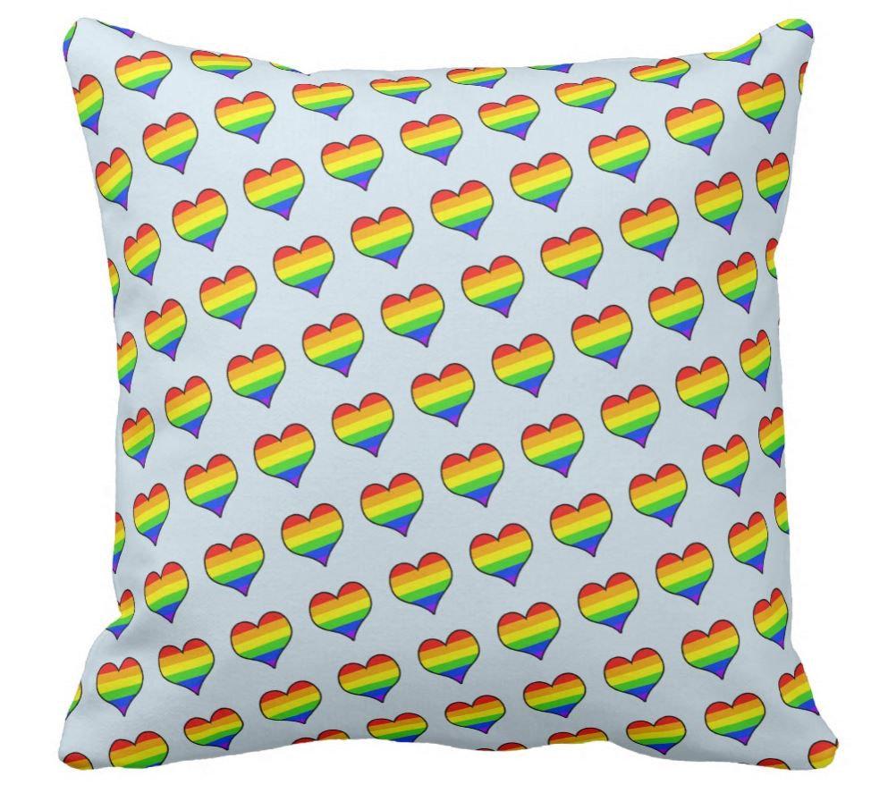 Rainbow Heart (Blue, Green, Yellow)