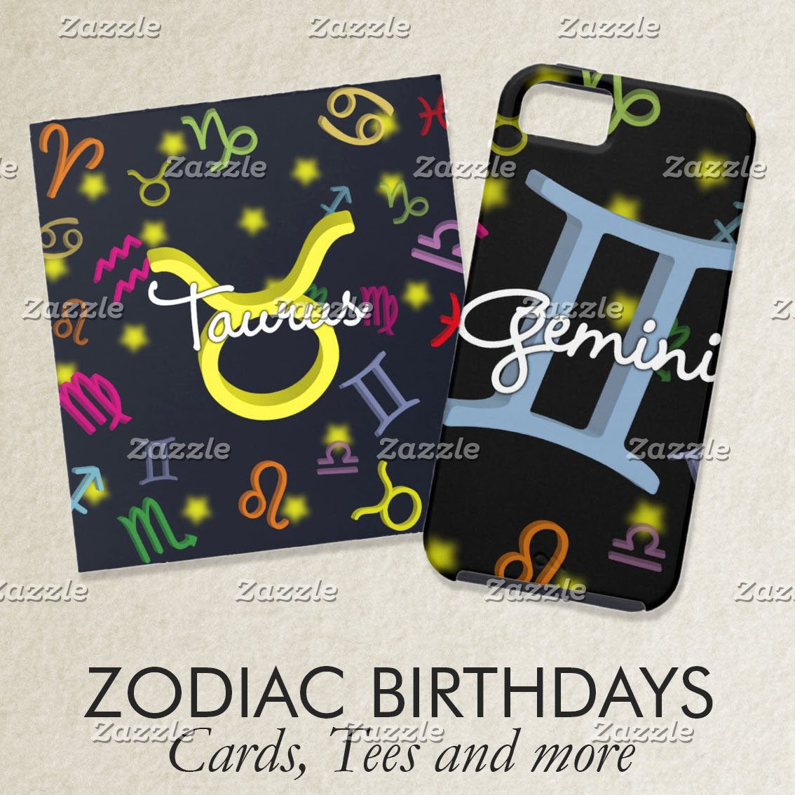 Zodiac Birthdays
