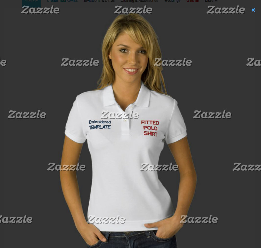 WOMEN'S EMBROIDERED T-SHIRTS