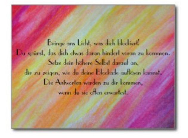 Soulpaintings mit deutschen Texten