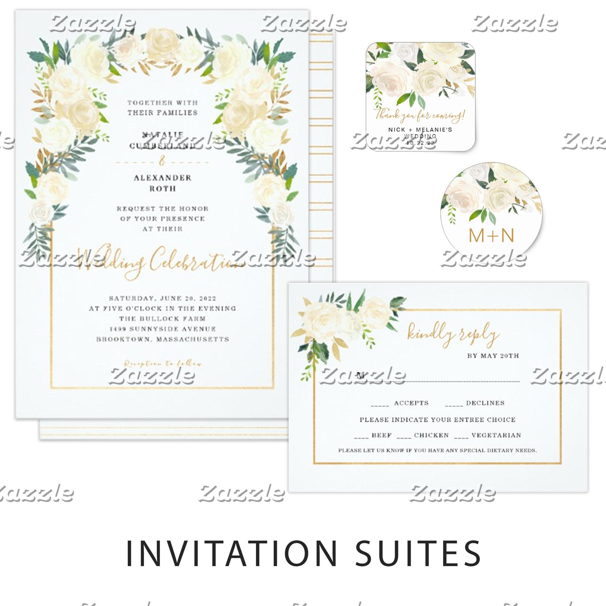 Wedding Invites + Accessories