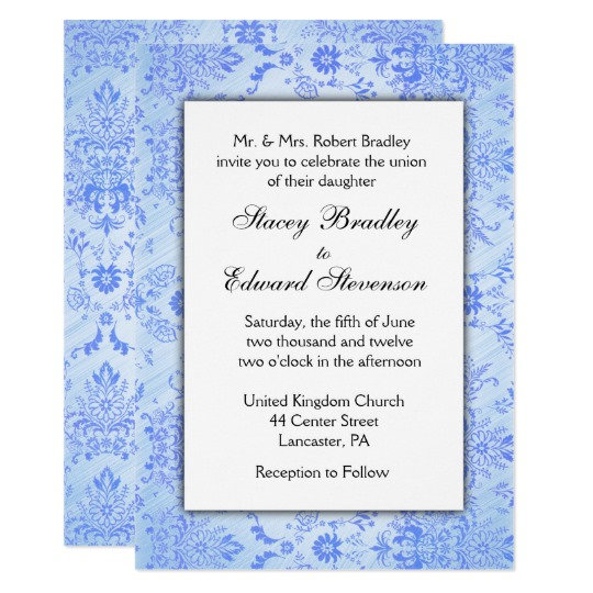 Damask Weddings ... more colors