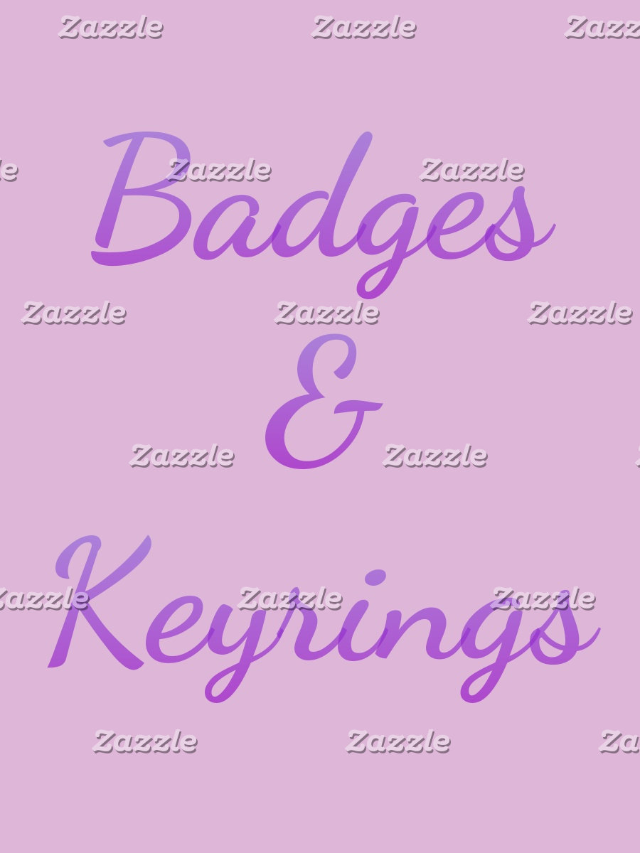 Badges & Keyrings