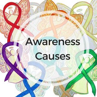 Ribbon Causes (Names A-Z)