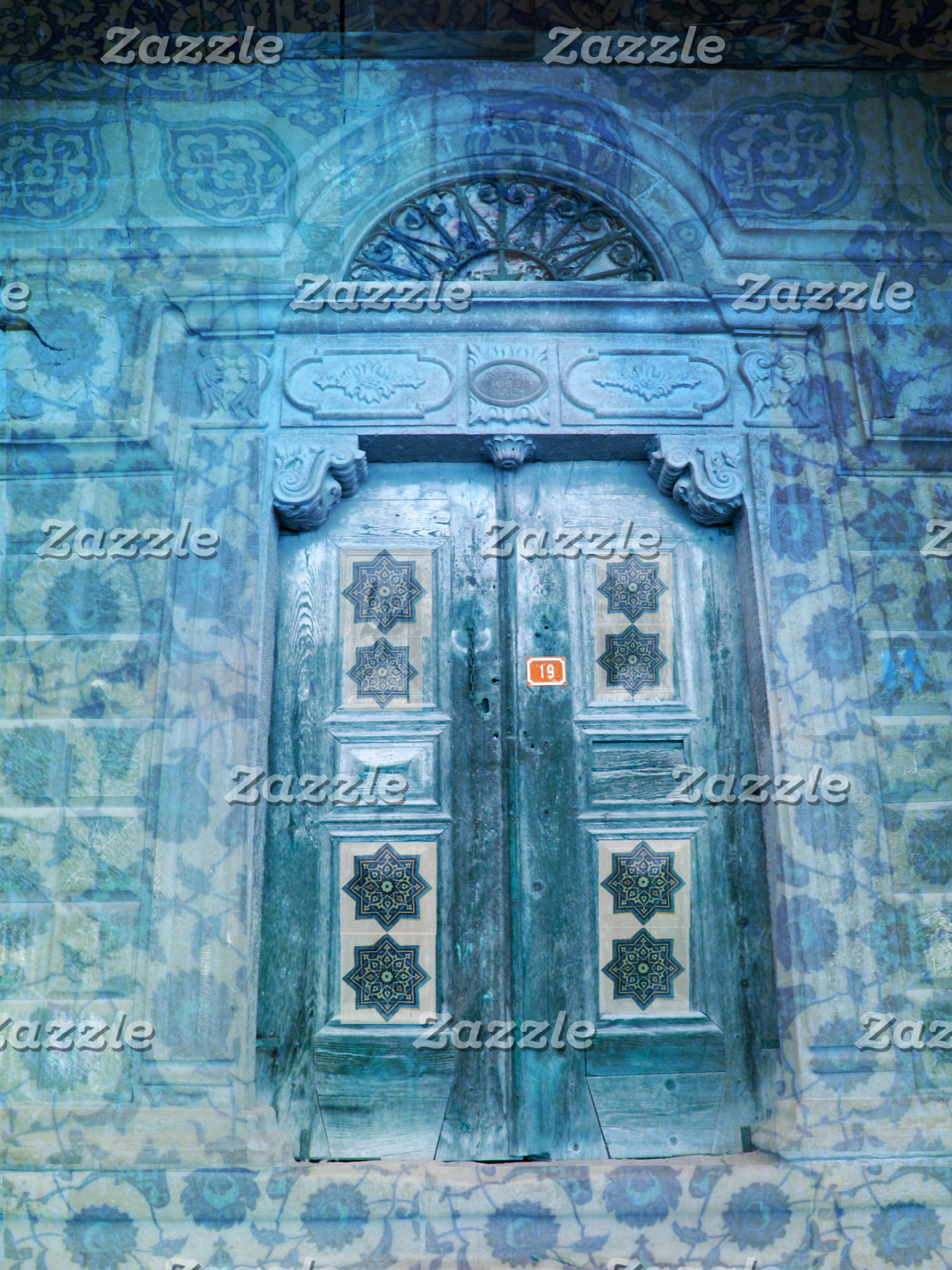 Morocco Blue Door