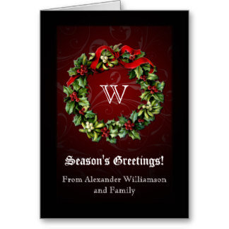 Traditional Christmas Cards