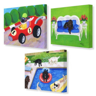 Labrador Canvas Prints