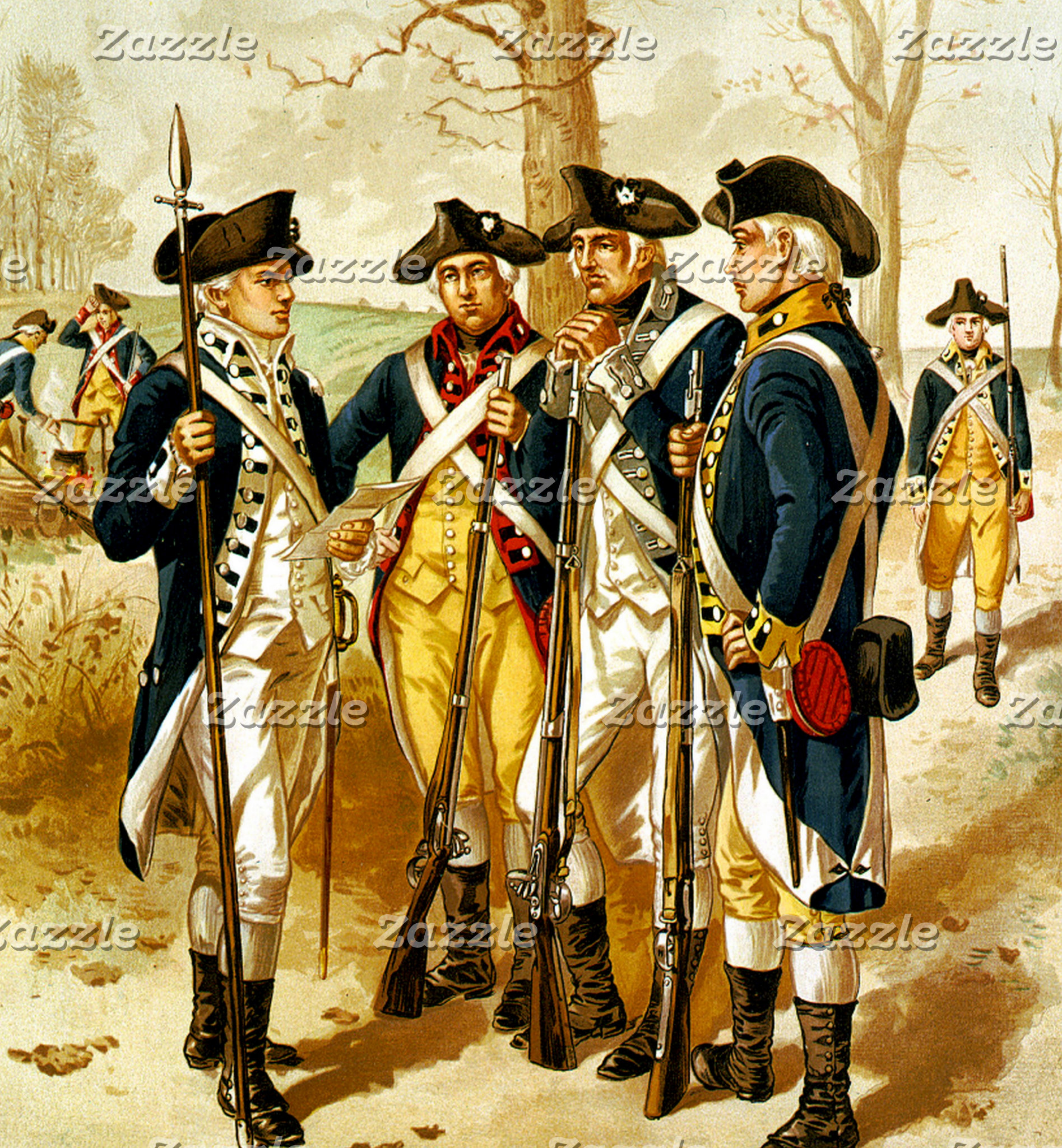 AMERICAN REVOLUTION AND CIVIL WAR