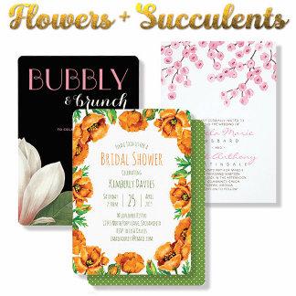Flowers + Succulents