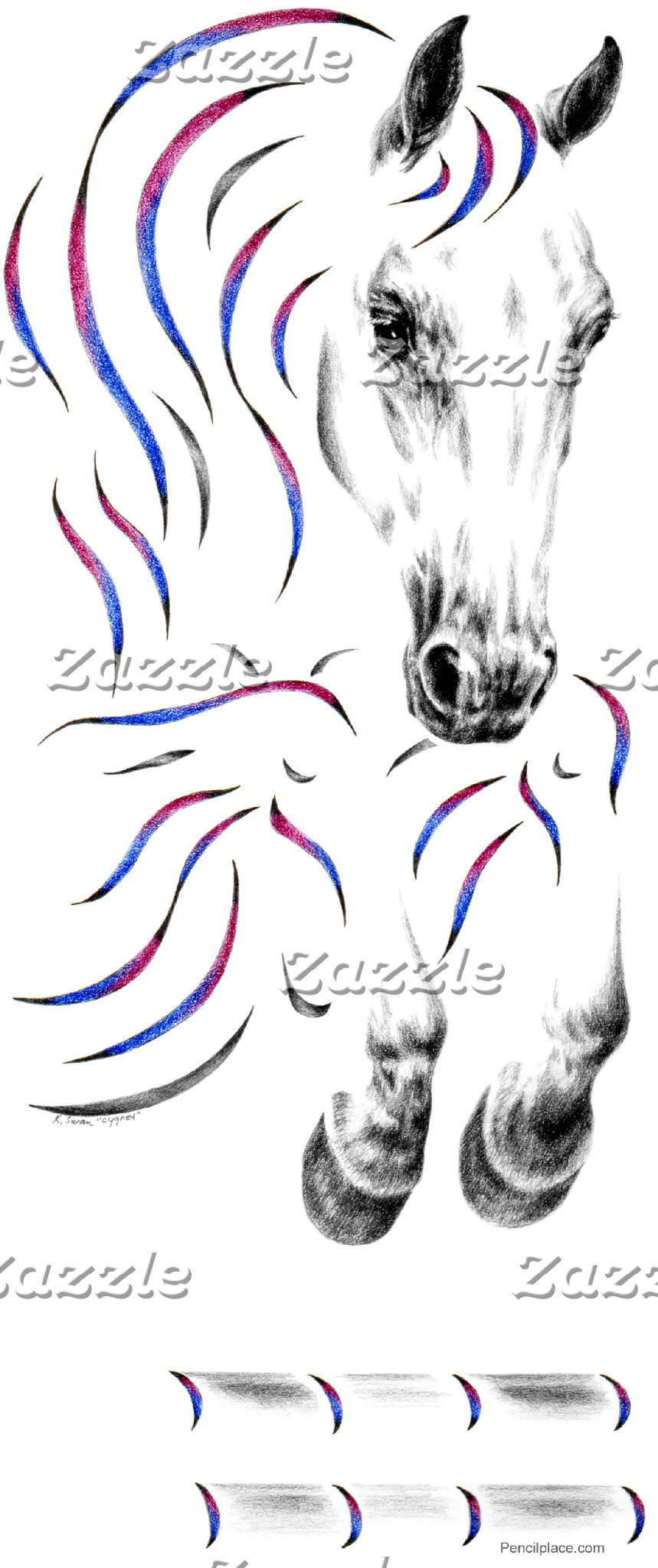 Jumper Horse Art