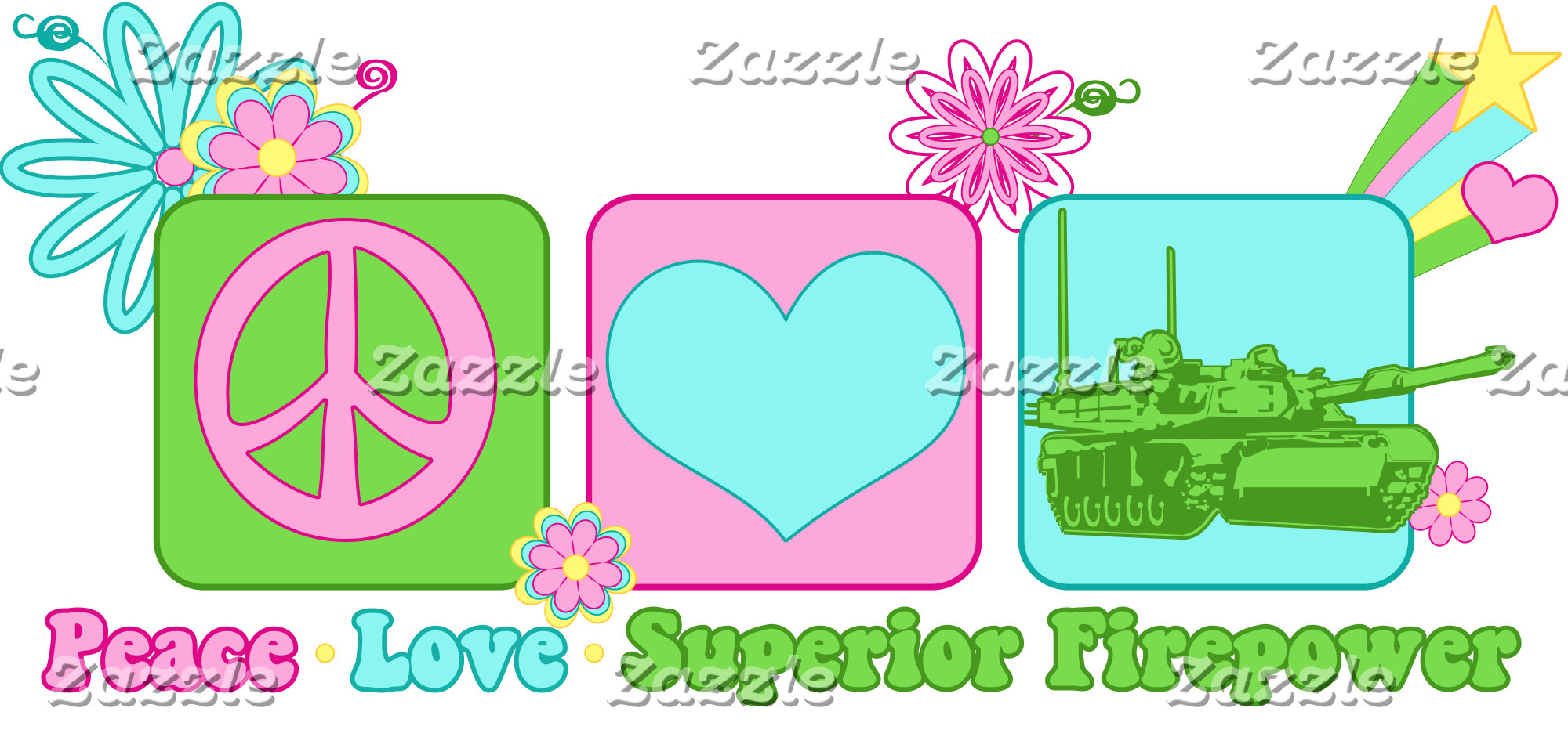 Peace Love Superior Firepower