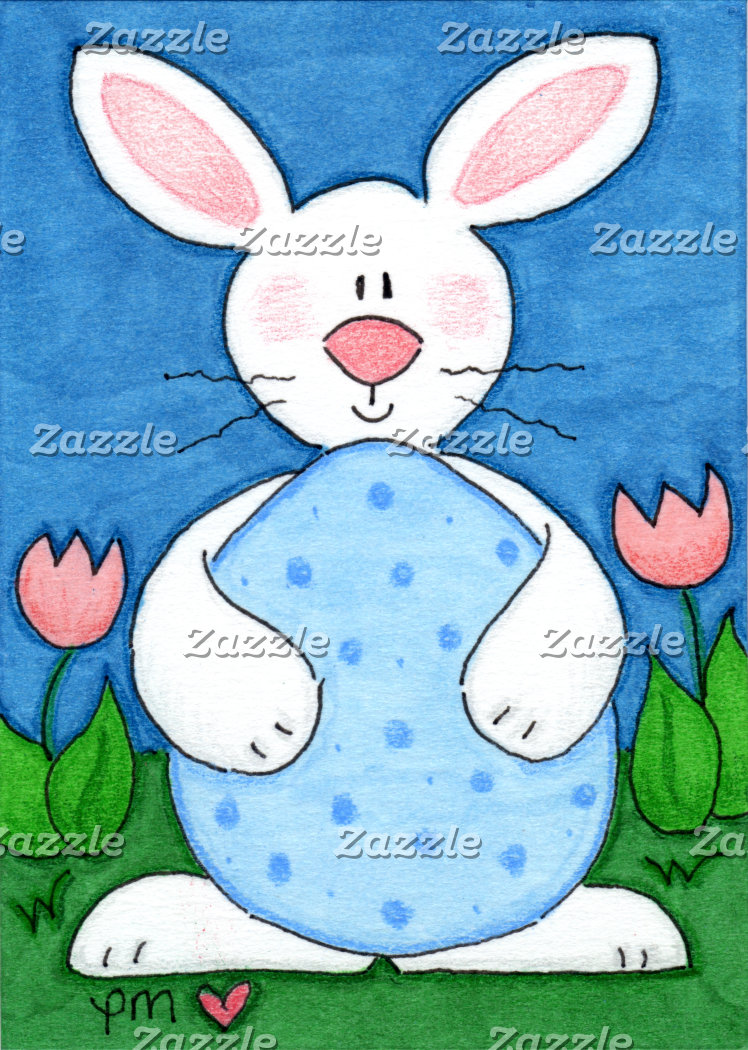 Baby Bunny's Big Blue Egg