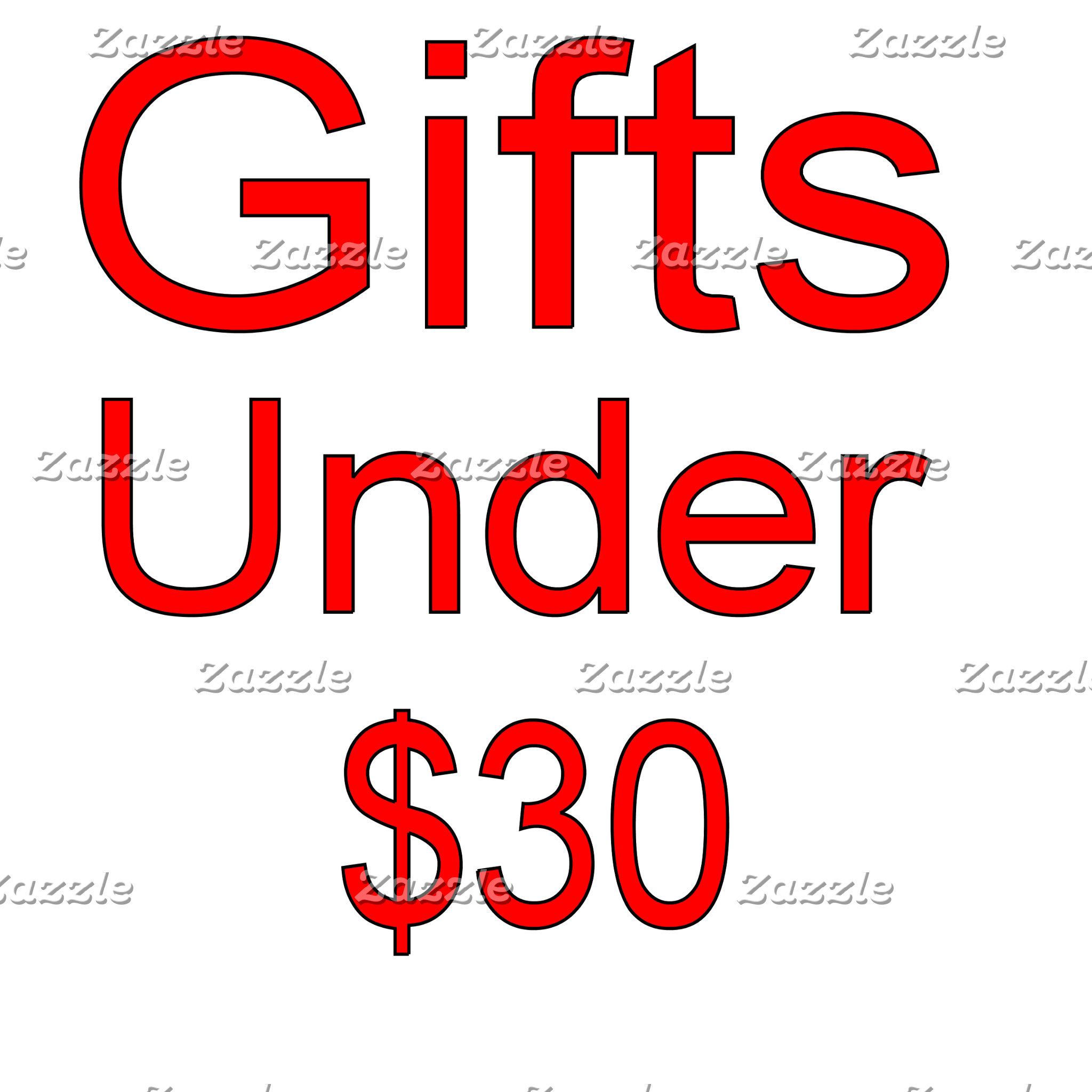 Under 30 Gifts