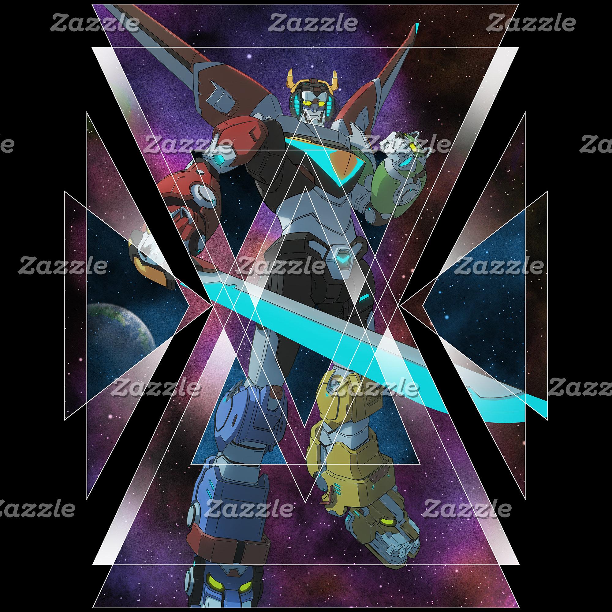 Voltron   Intergalactic Voltron Graphic