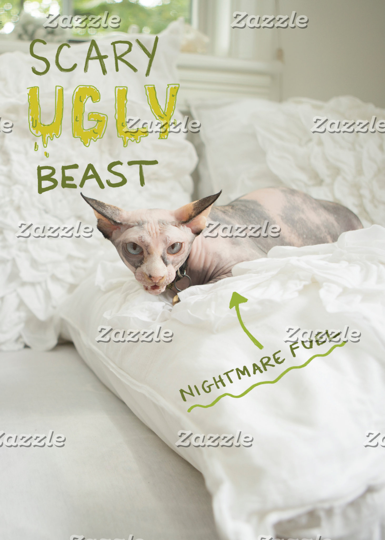 Scary Ugly Cat