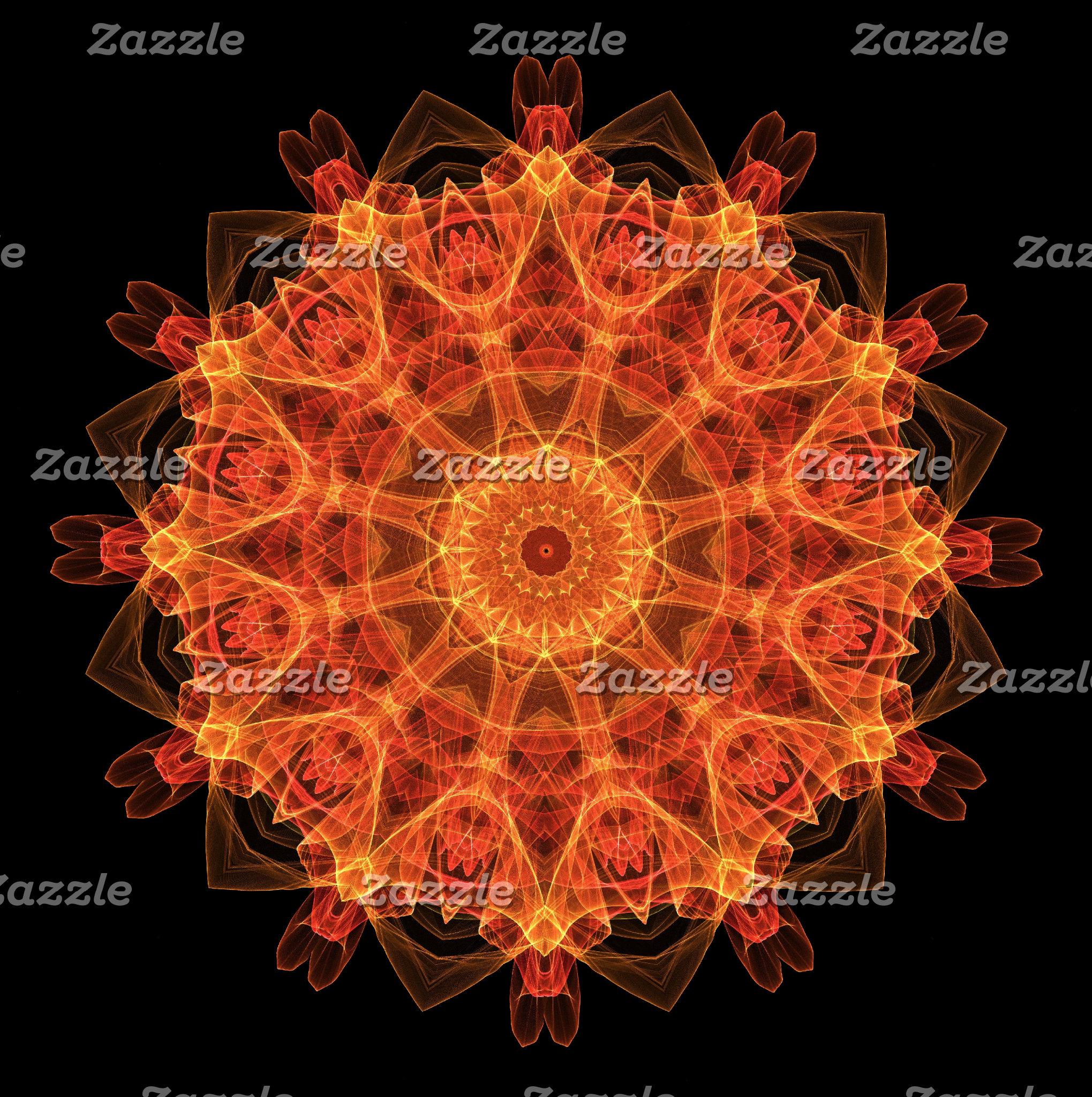 Red/Orange Mandalas