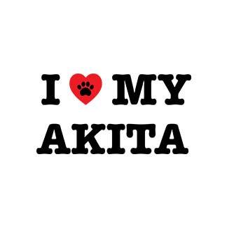 I Heart My Akita