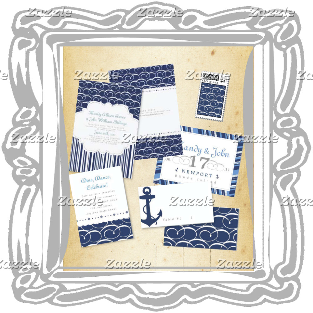 Navy Blue Nautical