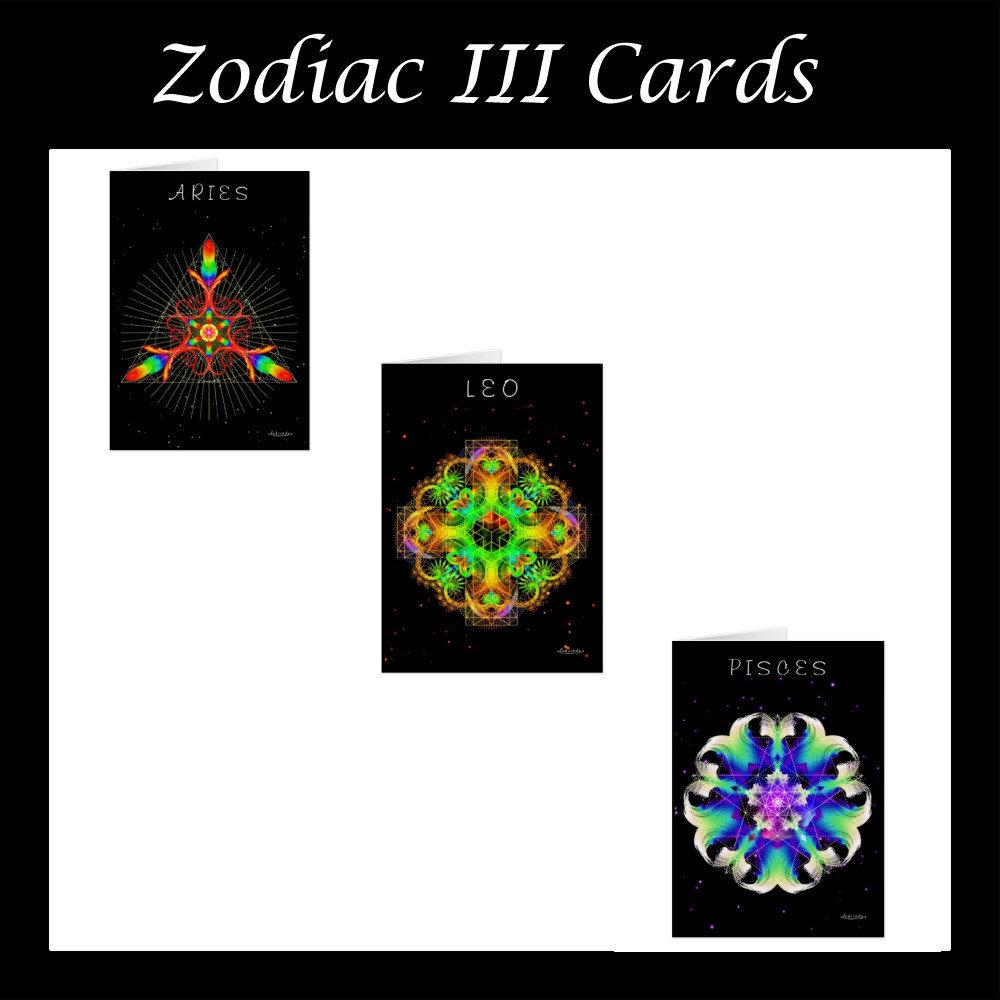 Zodiac Cards III
